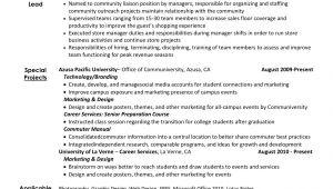 Student Resume Activities Student Activities Resume Jamesdonnelly