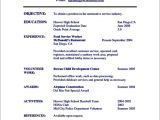 Student Resume Activities Student Activity Resume Template Free Samples Examples