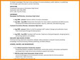 Student Resume Australia 9 Editorial Examples for High School Students Dragon
