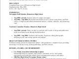 Student Resume Australia Print High School Student Resume Template Australia Resume