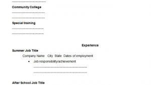 Student Resume Blank 46 Blank Resume Templates Doc Pdf Free Premium