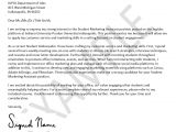 Student Resume Cover Letter Examples Cover Letters Resources Office Of Student Employment Iupui