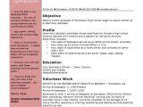 Student Resume Examples Australia High School Student Resume Template Example Summer