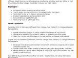 Student Resume for University Admission 8 College Admission Resume Professional Resume List