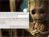Student Resume Groot Student Writes Resume and Cover Letter as Groot Popsugar