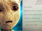 Student Resume Groot Student Wrote A 39 Groot 39 Resume for School assignment It