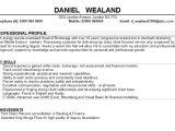 Student Resume Hobbies Banking Cv Sample