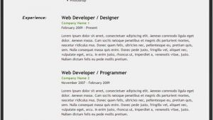 Student Resume In HTML Code HTML5 Powered Resume Tutorial