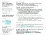 Student Resume Latex Latex Resume Template Graduate Student