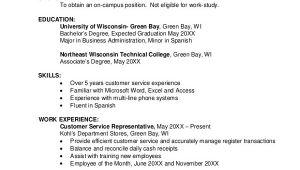 Student Resume Layout Sample Resume Layout 8 Examples In Word Pdf