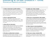 Student Resume Linkedin How to Build A Great Student Linkedin Profile Pdf