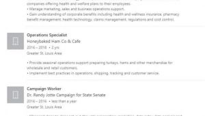 Student Resume Linkedin Linkedin Profile Resume Example College University