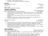 Student Resume Volunteer Experience Resume Volunteer Experience