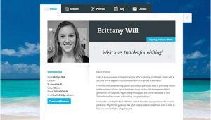 Student Resume Website Create A Resume Website Build A Personal Website Portfolio