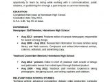 Student Resume Word Sample Student Resume Template 11 Free Documents In Pdf
