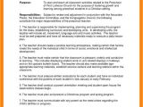 Student Teacher Responsibilities Resume Teachers Responsibilities and Duties Cover Letter