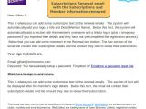 Subscription Email Template Can I Get Rid Of the Subscriptions Info In the