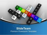Success Powerpoint Templates Free Download Principles Of Success In Crossword Powerpoint Templates