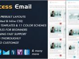 Successful Email Marketing Templates Success Newsletter by Bedros themeforest