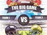 Super Bowl Party Flyer Template Free Photoshop and Illustrator Flyer Templates for the