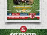 Super Bowl Party Flyer Template Super Ball Football Flyer Graphicriver
