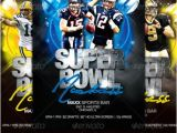 Super Bowl Party Flyer Template Super Bowl Flyer Template Print Ad Templates