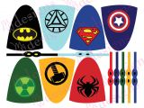 Superhero Lollipop Cape Template 8 Best Images Of Printable Superhero Lollipop Printable