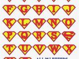 Superman Alphabet Template Superman Alphabet Letters Template Google Search