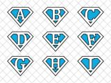 Superman Alphabet Template Superman Metropolis Backdrops Designtube Creative