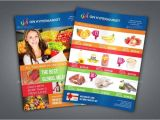 Supermarket Flyer Template 15 Supermarket Flyer Designs Templates Psd Ai Free