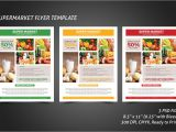 Supermarket Flyer Template Free Supermarket Flyer Template Flyer Templates Creative Market