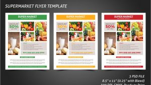 Supermarket Flyer Template Supermarket Flyer Template Flyer Templates Creative Market