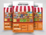 Supermarket Flyer Template Supermarket Promotion Flyer Flyer Templates Creative