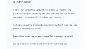 Survey Follow Up Email Template How to Write A Follow Up Email Backed by Unique Research