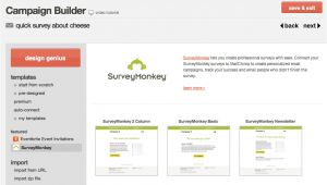 Survey Monkey Template Mailchimp Integrates with Surveymonkey