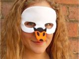 Swan Mask Template Fresh Halloween Swan Mask A Unique Product by Lupin On