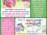 Sympathy Quotes for Flower Card Sympathy with Images Sympathy Cute Quotes Condolences