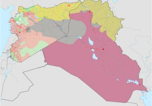 Syria War Template Syria and Iraq 2014 Onward War Map Png