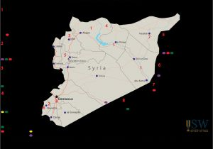 Syria War Template Template Map Syria Iraq