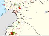 Syrian Civil War Map Template Suriye 39 De Propaganda Savaslari 1