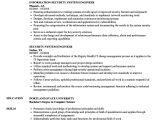 System Engineer Resume Security System Engineer Resume Samples Velvet Jobs