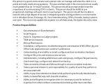 Systems Engineer Resume Job Description Sample Network Engineer Job Description 10 Examples In
