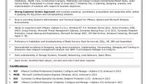 Systems Engineer Vmware Resume Sameer 39 S Vmware Wintel Systems Engineer Resume 04 2016
