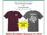 T Shirt Fundraiser Flyer Template 4 H T Shirt Fundraiser