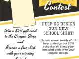 T Shirt Fundraiser Flyer Template T Shirt Design Contest Maketing Flyers Inksoft Inksoft