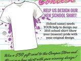 T Shirt Fundraiser Flyer Template T Shirt Design Contest Maketing Flyers Inksoft