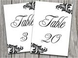 Table Numbers for Wedding Reception Templates Victorian Wedding Victorian Wedding Table Number