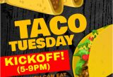 Taco Flyer Template Taco Tuesday Flyer Template Postermywall