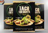 Taco Flyer Template Taco Tuesdays Flyer Template Flyer Templates Creative