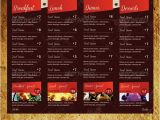 Takeaway Menu Design Templates 18 Takeaway Menu Template Free Psd Jpeg Ai format
